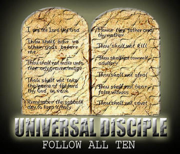 Follow all ten, by TheeUniversaldisciple on OurStage