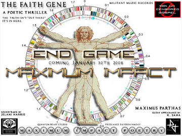 The FAITH Gene (A Poetic Thriller), by Maximus Parthas on OurStage
