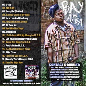 BUMP DAT  BY: G-MIKE, by G-MIKE on OurStage