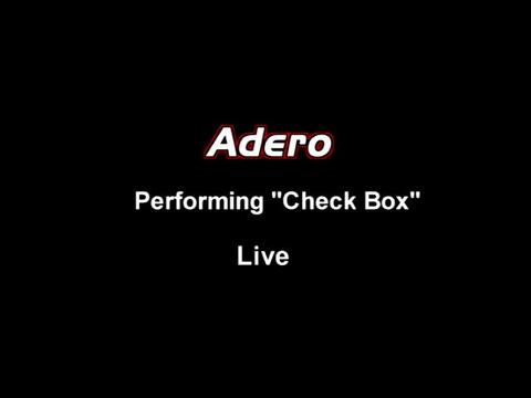 Adero Neely Performs CheckBox Live, by Adero Neely on OurStage