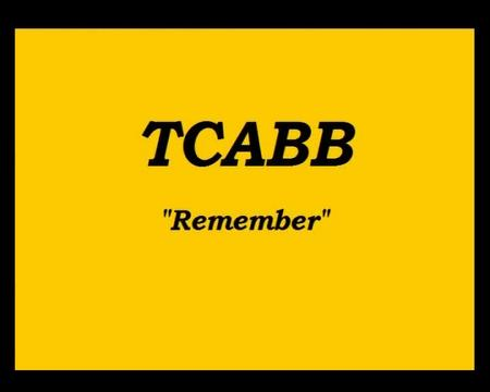 Remeber, by TCABB on OurStage