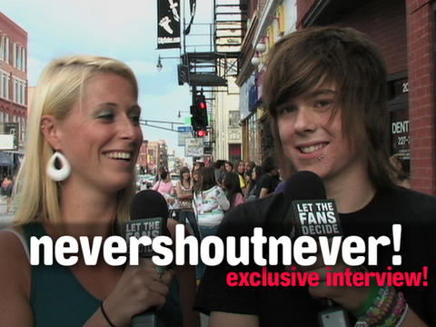 nevershoutnever! Exclusive Interview, by OurStage Productions on OurStage