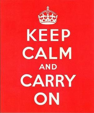 Keep Calm And Carry On, by Mo Debbage on OurStage
