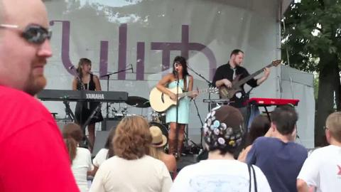 "Jetty performing ""Blink of an Eye"" at Lilith Fair Detroit, by Jetty Rae on OurStage"