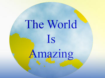 THE WORLD IS AMAZING, by FIGSOUNDS on OurStage