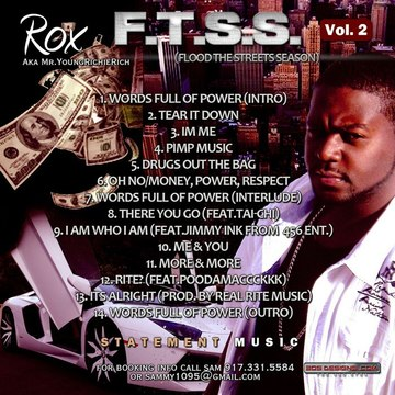 R.N.S(Real Ni**a Shit), by Rox aka Mr.YoungRichieRich on OurStage