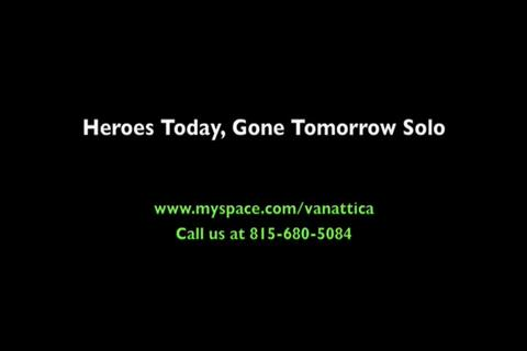 Heroes Today, Gone Tomorrow (GUITAR SOLO), by Vanattica on OurStage