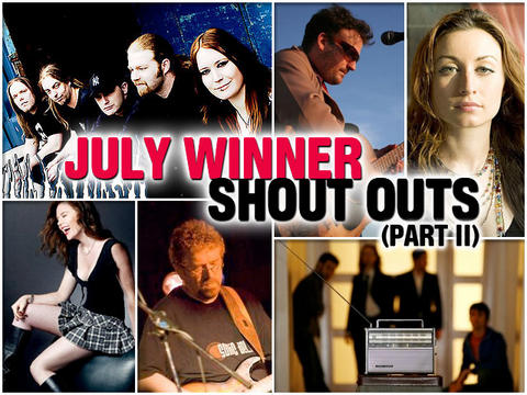 July Winner ShoutOuts Pt II, by OurStage Productions on OurStage