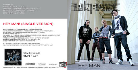 Hey Man!, by PINBOYS on OurStage