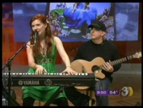 Live performance on Good Morning Arizona TV, by Marina V on OurStage