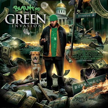 BANG OUT ft DJ Green Lantern, by BURNTmd on OurStage