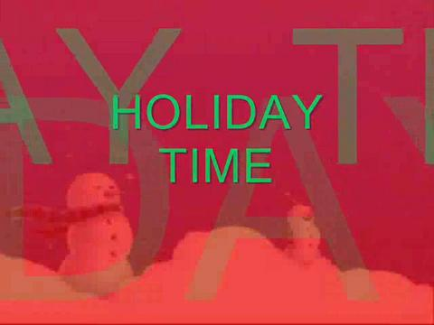Holiday Time , by Steve Dafoe-SongWriter on OurStage