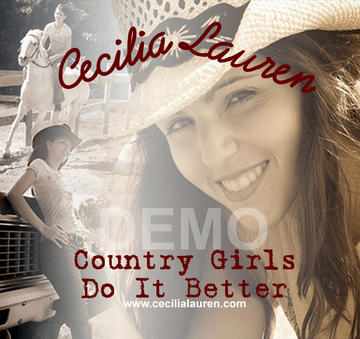 Country girls do it better, by Cecilia Lauren & the Ocoee River band on OurStage