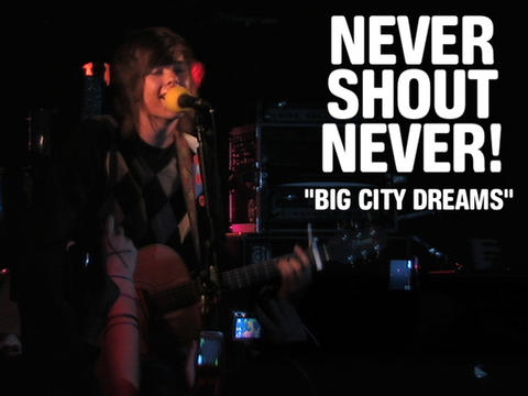 """nevershoutnever! """"Big City Dreams"""" (Live), by OurStage Productions on OurStage"""