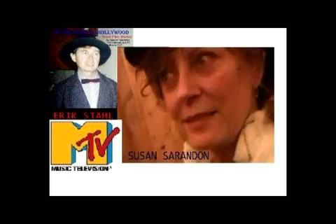 Susan Sarandon actress in and her Ping Pong  Erik Stahl tv show , by MTV Erik Stahl tv reporter exclusive 2012 on OurStage