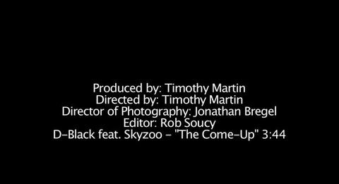 The Come Up Ft. Skyzoo, by D-Black on OurStage