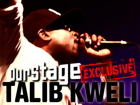 Talib Kweli Hangs With OurStage, by OurStage Productions on OurStage