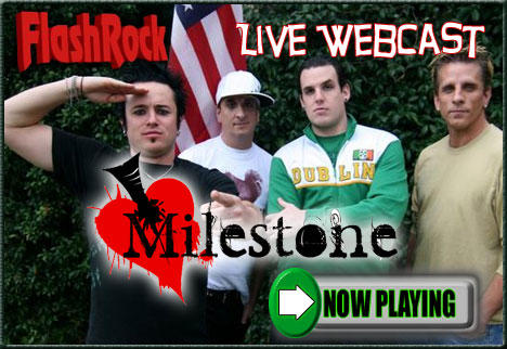 Milestone LIVE! @ Flashrock.com Studios, by Milestone on OurStage