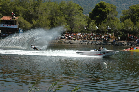 Kaiafas Lake Water Ski, by miltos on OurStage