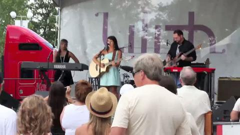 "Jetty Rae performing ""Little Girl"" at Lilith Fair 2010, by Jetty Rae on OurStage"