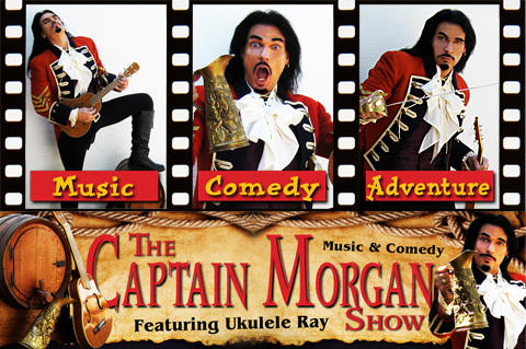 The Captain Morgan Show, by Ukulele Ray on OurStage