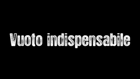 Vuoto Indispensabile, by Introversia on OurStage