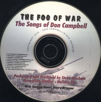 The Fog of War, by Written by Don Campbell performed by Steve Grisham on OurStage