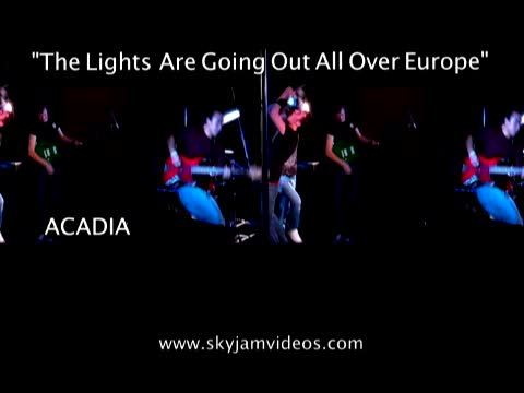 The Lights Are Going Out All Over Europe, by Skyjamvideos on OurStage