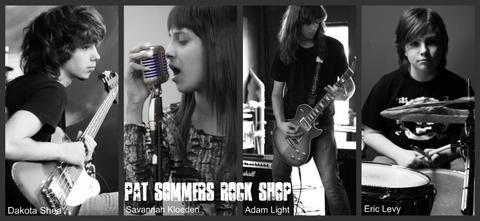 Ten Years Gone, by Pat Sommers Rock Shop on OurStage
