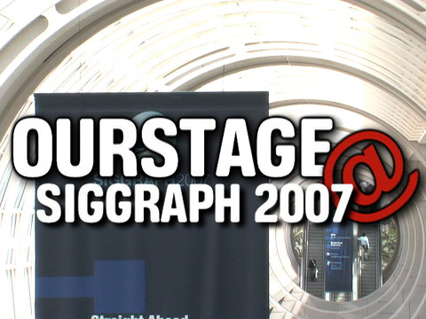 ourstage @ siggraph, by rachel on OurStage