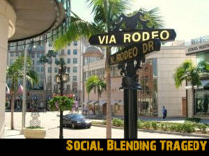 Social Blending Tragedy, by Satellite Down on OurStage