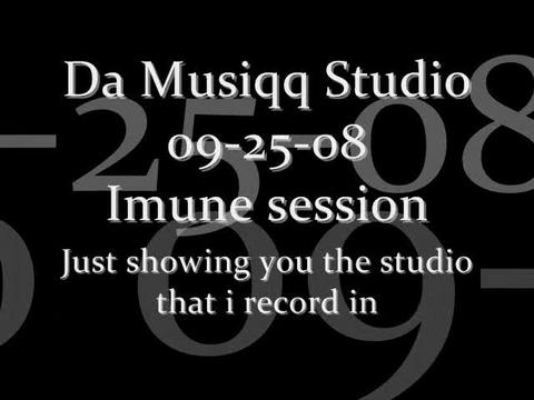 In Da Musiqq studio Imune behind the cam., by IMUNE on OurStage