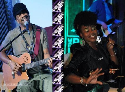 Live: Blaqmel Illing w-Rahnda Rize @Acoustic Soul, by BBSValueTour on OurStage