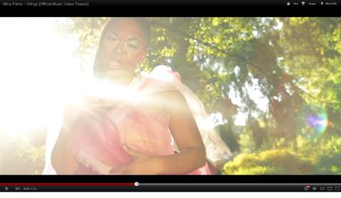 """Wings"" Official Music Video Teaser, by Mica Parris on OurStage"