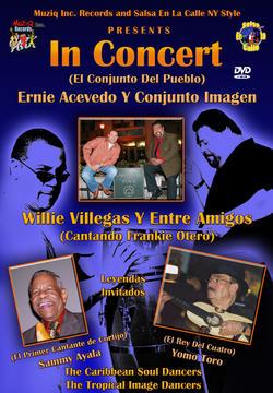 WILLIE VILLEGAS Y ENTRE AMIGOS PROMO DVD , by Willie Villegas Y Entre Amigos on OurStage