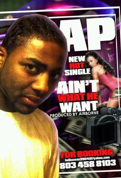 Ain't What He Want, by SOUTH CAK AP on OurStage