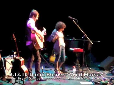 """Wild Horses"" supporting Marc Cohn, by Danni Rosner on OurStage"