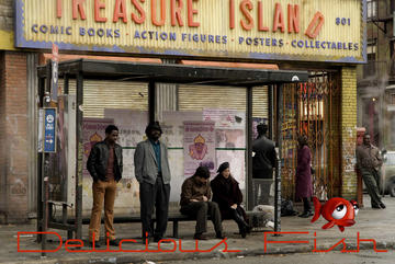 Treasure Island Bus Stop, by Delicious Fish on OurStage