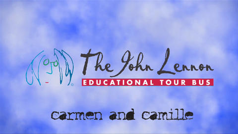 Cover of Battle of Evermore Recorded on the John Lennon Educational Tour Bus, by Carmen and Camille on OurStage