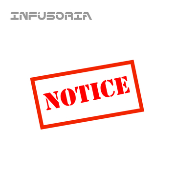 Notice, by Infusoria on OurStage