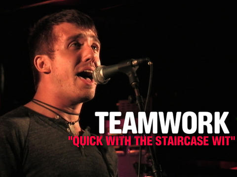 """Teamwork: """"Quick With The Staircase Wit"""", by OurStage Productions on OurStage"""