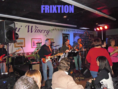 FRIXTION @ REVOLVER's CHRISTMAS BASH, 2012, by FRIXTION @ REVOLVER's CHRISTMAS BASH, 2012 on OurStage