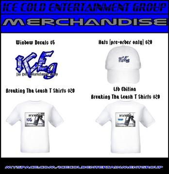 ICEg Merchandise Commercial, by Ice Cold Entertainment Group on OurStage