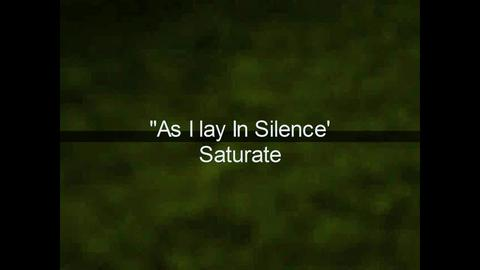 """As I lay in Silence"" , by Saturate on OurStage"