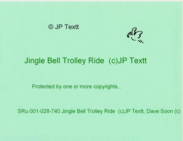 Jingle Bell Trolley Ride (c)JP Textt SRu 001-028-740, by JP Textt (c) on OurStage