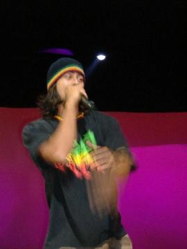 "Pharaoh Papi with BUBZ, Performing ""Satan get off me"" Live at the Maui Theatre , by Pharaoh Papi on OurStage"