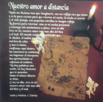 Nuestro amor a distancia, by Destino Incierto on OurStage