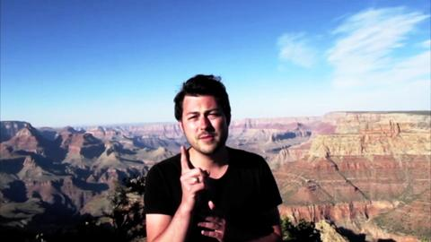 Andrew Cole jumping off the Grand Canyon!, by Andrew Cole on OurStage