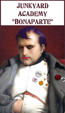 Bonaparte - (Original) ©2010 Junkyard Academy by Lewis Nowosad, by Junkyard Academy on OurStage