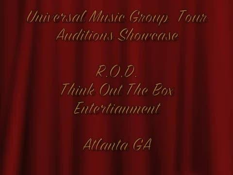 SHOW FOOTAGE, by ROD THE ARTIST on OurStage